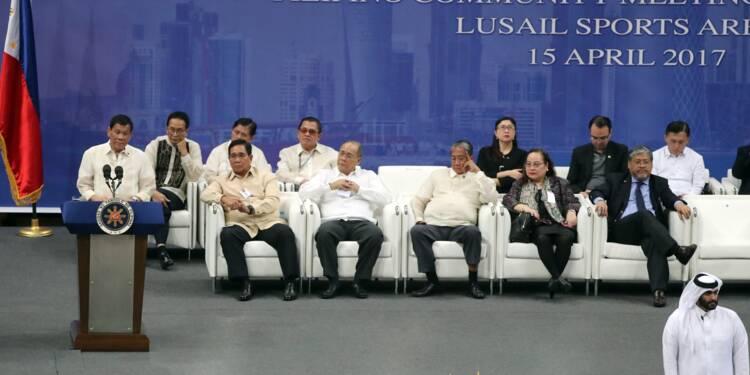 Accords commerciaux de 200 M USD entre le Qatar et les Philippines