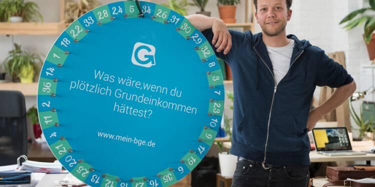 Revenu de base : la version loterie d'une start-up