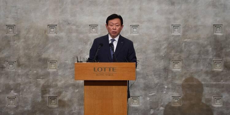 Corruption: le président du groupe sud-coréen Lotte inculpé