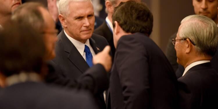 A Tokyo, le vice-président américain rassure les entreprises japonaises