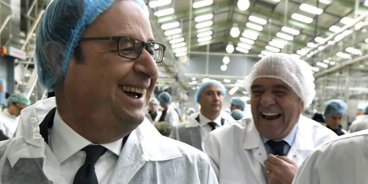 """François Hollande assure laisser """"un pays en bien meilleur état"""""""