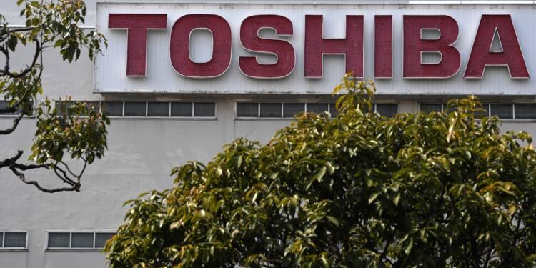 Toshiba a bouclé son augmentation de capital d'environ 4,5 milliards d'euros