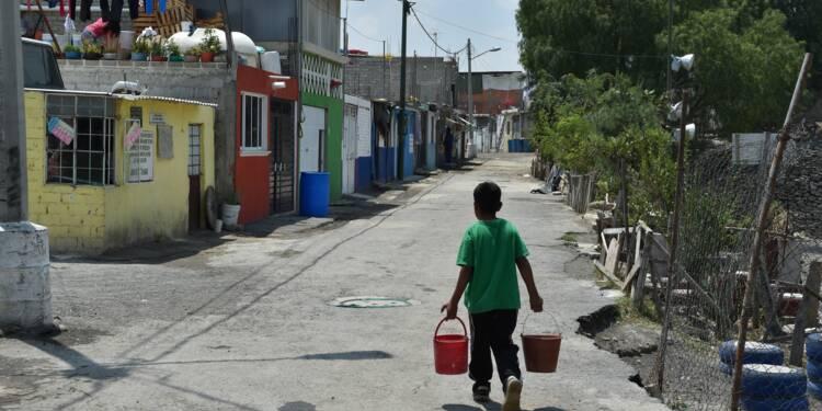 Dans la ville de Mexico, l'eau est une denrée rare pour beaucoup