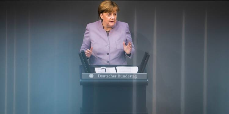 Merkel et May s'affrontent sur le Brexit