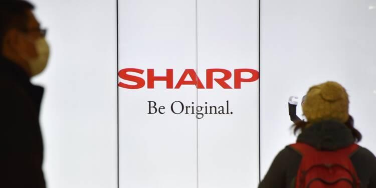 Sharp réduit considérablement sa perte nette annuelle