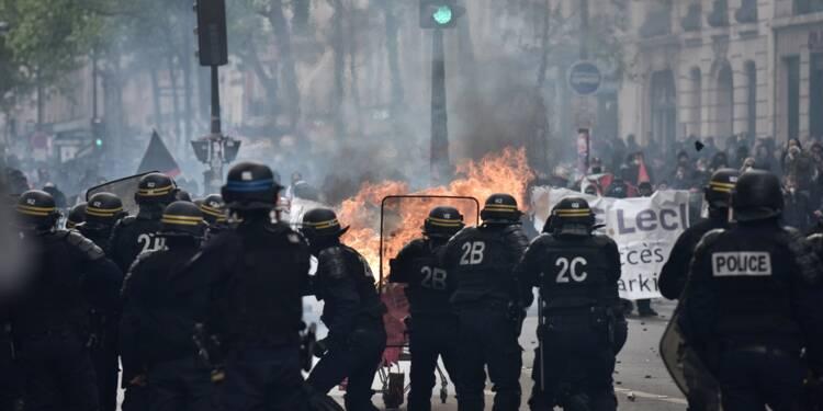 1er mai: trois CRS blessés en marge de la manifestation parisienne
