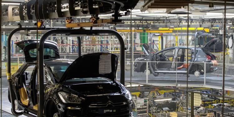 Chute technique du marché automobile français en avril