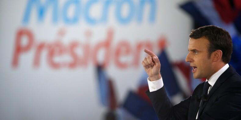 """Macron se défend d'être """"soumis aux banques"""""""