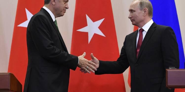 Sanctions commerciales contre la Turquie: Poutine annonce une levée partielle