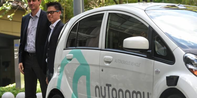 PSA testera en septembre des voitures sans chauffeur à Singapour