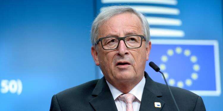 """Le Brexit, """"une tragédie"""", selon Jean-Claude Juncker"""