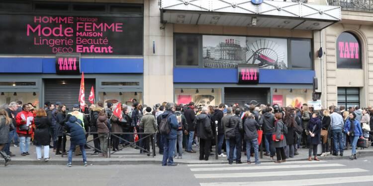 """Tati: la CGT demande aux repreneurs des """"engagements fermes"""" sur l'emploi"""