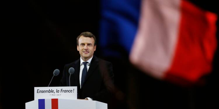 """De grands patrons soumettent à Macron un """"Pacte européen"""""""