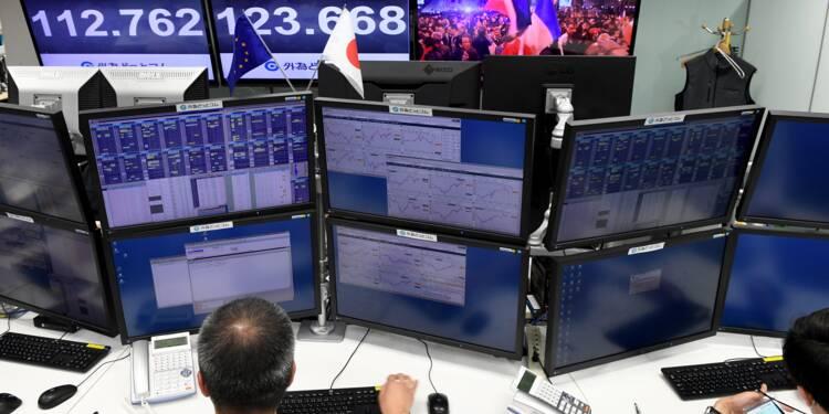 Enthousiasme mesuré sur les marchés en Asie après la victoire de Macron