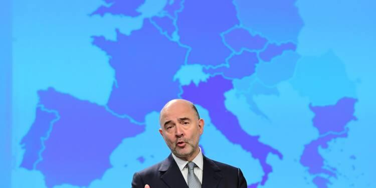 Macron doit ramener le déficit sous les 3%, Moscovici