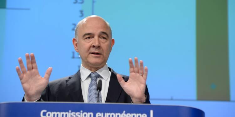 Déficit public: l'UE se défend de toute pression sur Macron