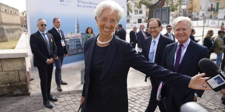 """Grèce: Lagarde rappelle que la réduction de la dette est """"impérative"""""""
