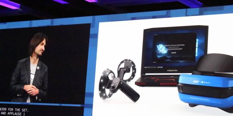 Microsoft présente des manettes de contrôle pour la réalité mélangée