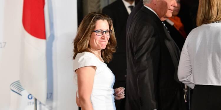 Le Canada envoie à Washington la ministre chargée de renégocier l'Aléna