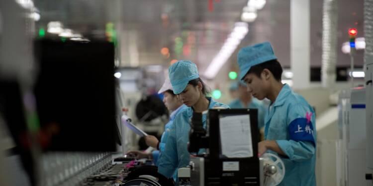 Chine: le resserrement du crédit pèse sur industrie et investissements