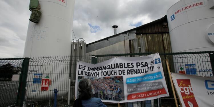 Le Maire promet de négocier des hausses de commandes pour GM&S