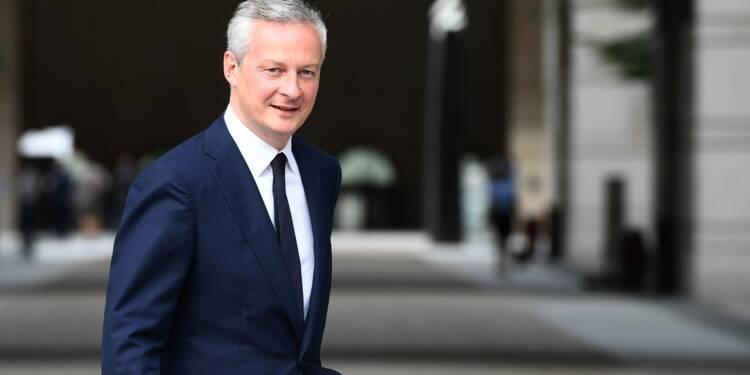 """UE: Le Maire """"dès lundi"""" à Berlin pour discuter avec son homologue"""