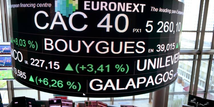 La Bourse de Paris termine en baisse après la BCE