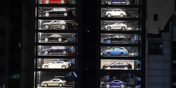 A Singapour, un distributeur automatique de voitures de luxe bien inspiré