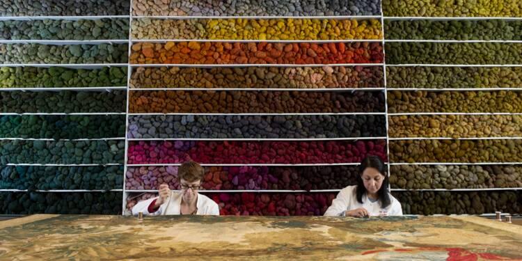 A Malines, les tapisseries anciennes restaurées pour affronter le temps