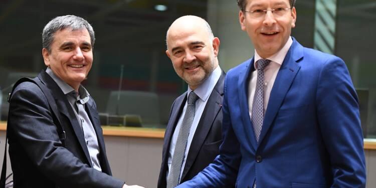 UE: un allègement de la dette grecque pourrait être accordé lundi