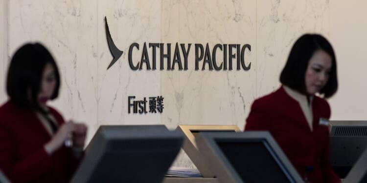 Cathay Pacific va supprimer 600 postes pour réduire ses coûts