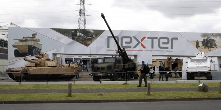 Nexter: contrat avec le Danemark pour 15 systèmes d'artillerie Caesar