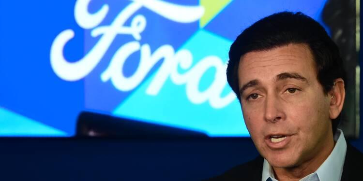 Ford pousse son PDG vers la sortie face au mécontentement des marchés