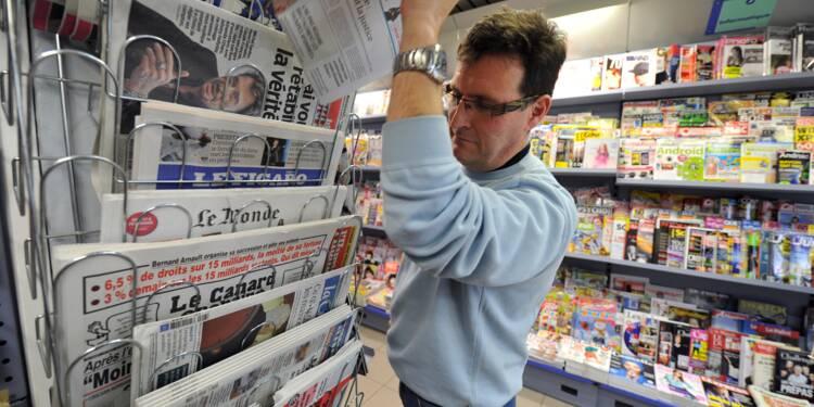 Hausse des ventes de journaux au premier trimestre