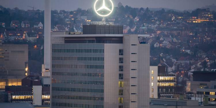 Scandale du diesel : perquisitions chez Daimler en Allemagne