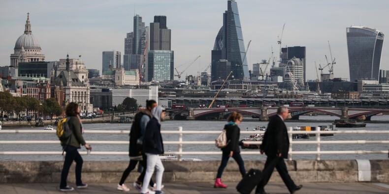 La croissance britannique freine brutalement au 1er trimestre
