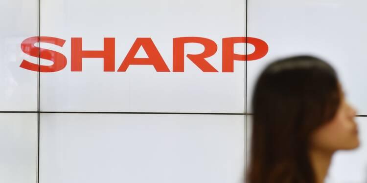 Sharp escompte un retour dans le vert cette année comptable