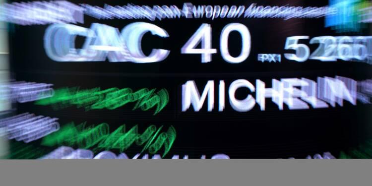 La Bourse de Paris finit en repli une séance terne (-0,50%)