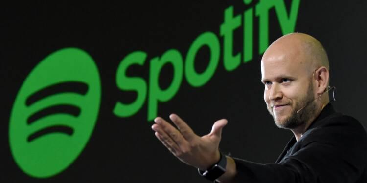 Spotify scelle un accord de droits avec des artistes américains