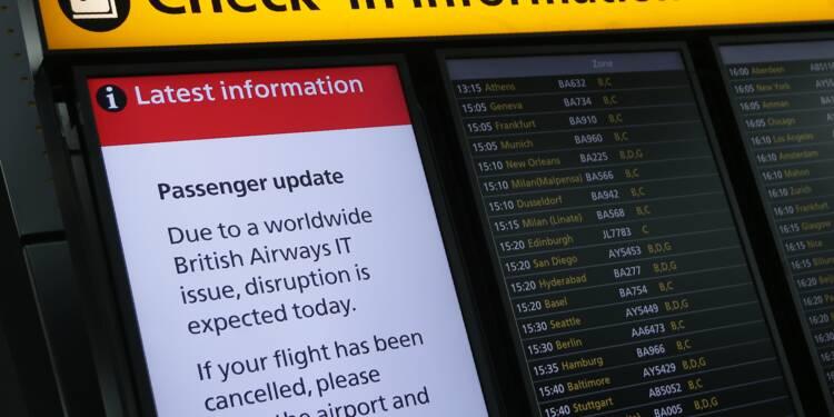 British Airways: retour à la normale prévu après une panne géante
