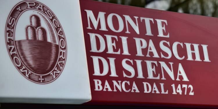 BMPS: l'accord, bonne nouvelle pour le système bancaire italien