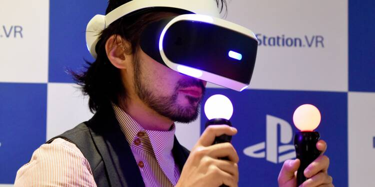 """Sony: 1 million de casques """"réalité virtuelle"""" vendus, extension des contenus multimédias"""
