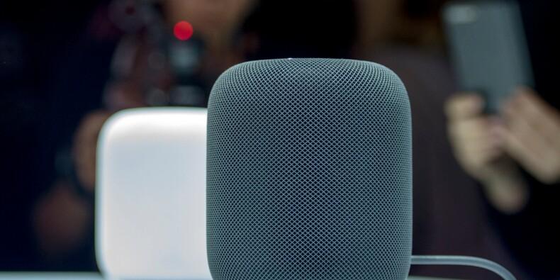 """Apple lance le """"HomePod"""", son haut-parleur intelligent"""