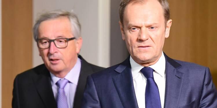 """Brexit: """"Pas de temps à perdre"""", lance l'UE à Londres"""