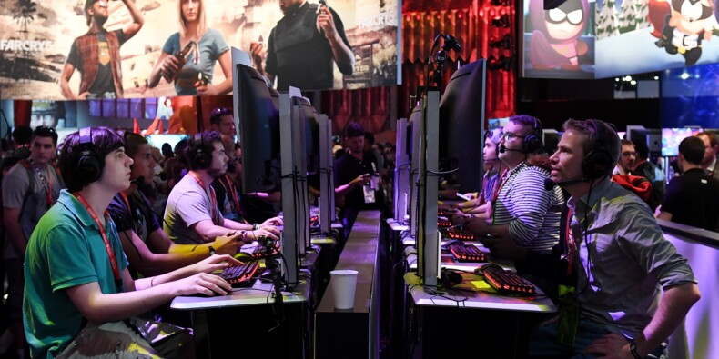 """Salon E3: le """"sport"""" des jeux vidéo sur le devant de la scène"""