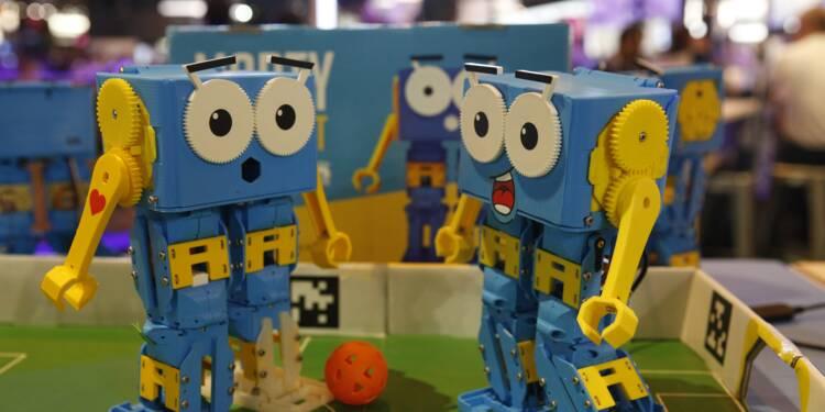 Vivatech : robots, drones, IA, réalité virtuelle et impression 3D font sensation