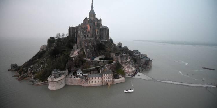 Le Mont Saint-Michel redevient une île mais son budget reste à trouver