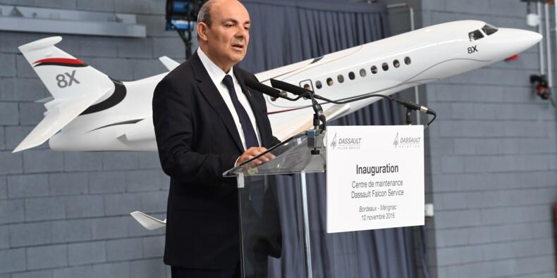 Drones: le PDG de Dassault Aviation favorable à des coopérations en Europe