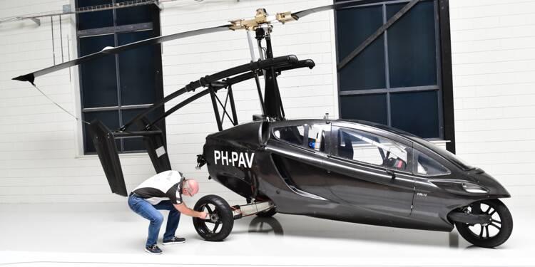 Voiture volante : un premier modèle lancé dès 2018 ?