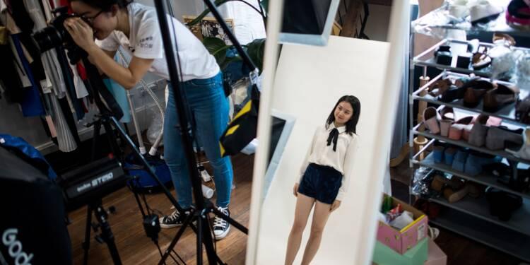 En Chine, les stars d'internet transforment la mode en or